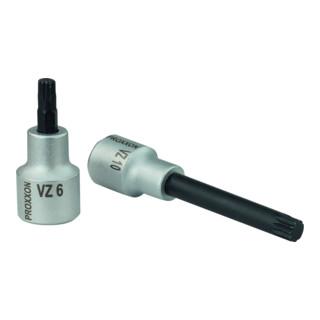Proxxon 1/2-Vielzahn-Einsatz VZ 10, 55 mm lang