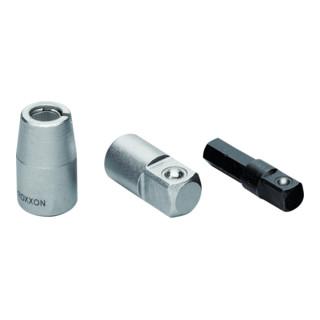"""Proxxon Adapter 1/4"""" Innenvierkant auf 3/8"""" Außenvierkant"""