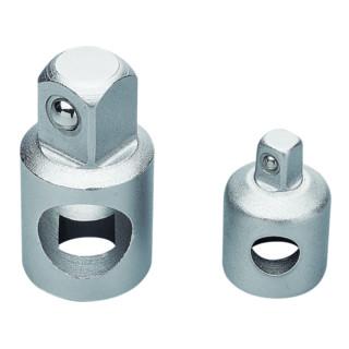 """Proxxon Adapter 3/8"""" Innenvierkant auf 1/2"""" Außenvierkant"""
