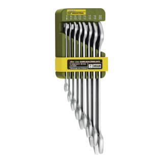 Proxxon Doppel-Maulschlüsselsatz, 8-teilig von 6 x 7 bis 20 x 22 mm