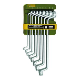Proxxon Doppel-Ringschlüsselsatz, 8-teilig von 6 x 7 bis 20 x 22 mm