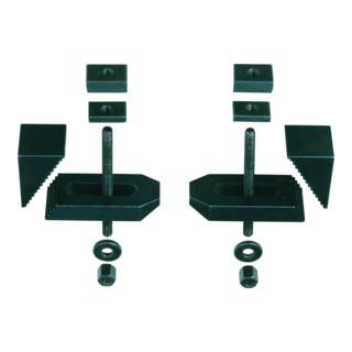 Proxxon Stufen-Spannpratzen (gefräst), 2 Stück