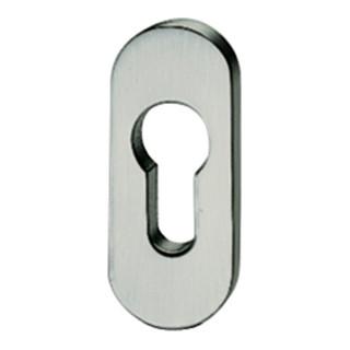 PT-Schlüsselrosette,PZ, 0 17 1757,oval,F69 matt