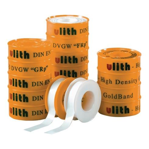 PTFE Dichtband FRp L.12m x B.12mm x D.0,1mm 60g/m² Rl.ULITH
