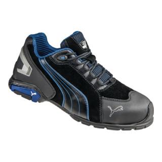buy online 21ad4 89883 Puma Sicherheitsschuhe Rio Black Low, EN20345 S3 schwarz/blau