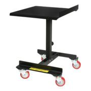 Pupitre roulant STIER, capacité de charge 70kg, réglable en hauteur 710 à 960mm