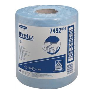 Putztuch Wypall L10-7492 blau 1lagig L.380xB.185mm 400 Abrisse