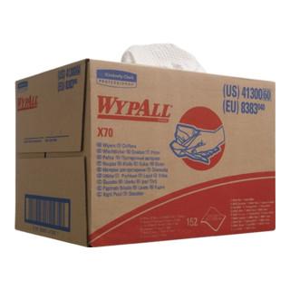 Putztuch Wypall X70-8383 L.427xB.318mm weiß geprägt 152Blatt