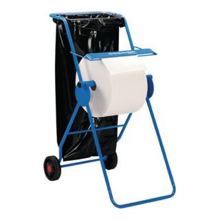 Putztuchbodenständer fahrbar B.500xH.1090xT.740mm Rollen-B.440mm