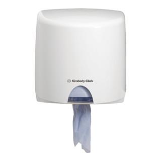 Putztuchspender Aquarius 7018 aus Kunststoff weiß Abm.278x276x226mm abschließbar