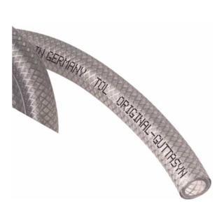 PVC-Gewebeschlauch TCN transp. m.Einl 6x3mm 50m