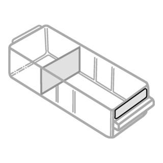 Etiketten 15x75 für Schublade 250-01 (24 Stück per Satz)