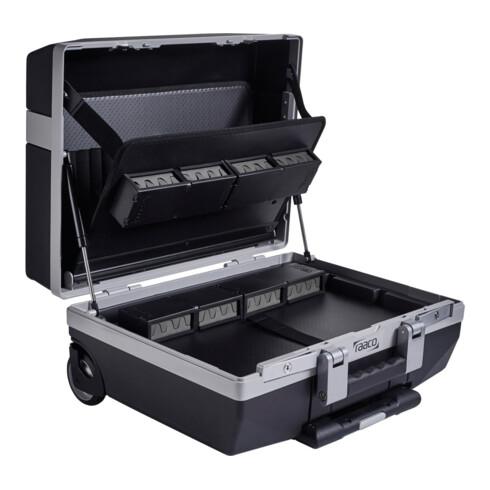 Raaco Service-Werkzeugkoffer mit Bodenschale und Werkzeugtafeln fahrbar, Typ: XLT