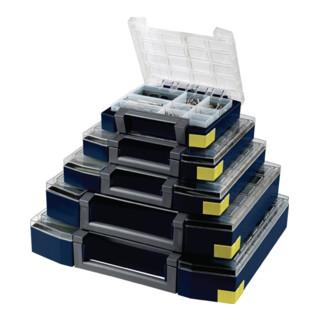 Sortimentenkoffer Boxxser 80 5x10-25 B.421xT.361xH.78mm Einsfächer'Sätze lose PP/PC