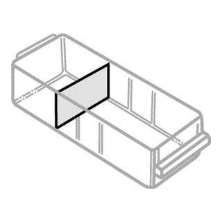 Raaco Trennwände'Wände 80x155 zur Unterteilung der Schublade 250-02 (12 Stück)