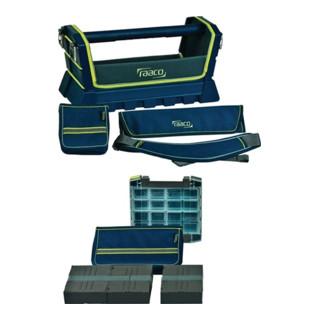 Werkzeugbox Tool Taco L Premium, 504 x 234 x 256 mm Hartschalenkonstruktion mit Tragegriff