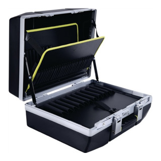 Werkzeugkoffer XL-79 B485xT215xH410mm Trgf.25kg 79Einsteckf. 1Dokum.-fach