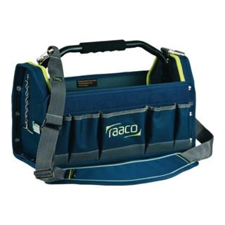 Raaco Werkzeugtasche B.419xT.206xH.264mm innen und außen Taschen Hartplastik