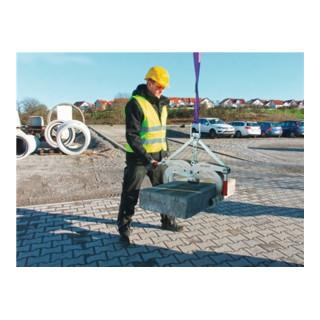 Rabattengreifer EXG-Maxi Greifbe.0-400mm Trgf.600kg Eigeng.15 kg,ZN