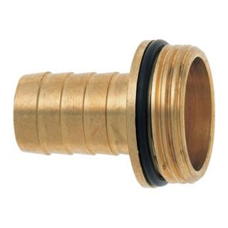 Raccord à visser p. tuyau 1/3 GEKA plus laiton taille tuyau 19 mm filetage ext.