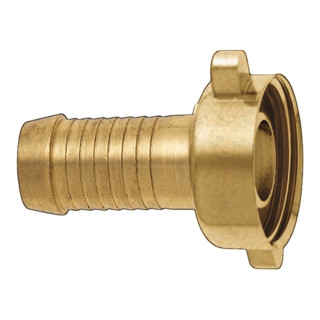Raccord à visser p. tuyau 2/3 laiton taille tuyau 13 mm filetage int. 3/4 po. KA
