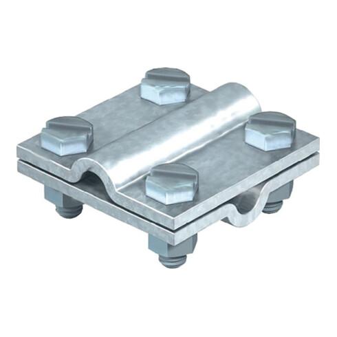 Raccord de croisement selon DIN EN 62561-1 rond / rond 8 - 10 mm galvanisée à ch