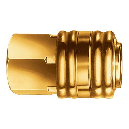 Raccord rapide DN 7,2, filetage int. laiton filetage G 3/8 po. 15,39 mm EWO