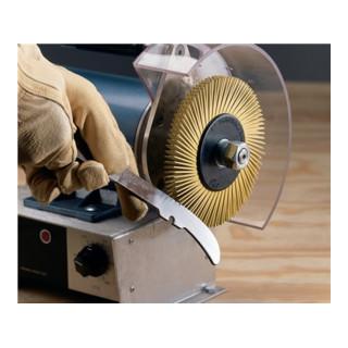 Radialbürstenscheibe Bristle Brush BB-ZB Typ A D.150xB12x25,4mm 80 Cubitron 3M