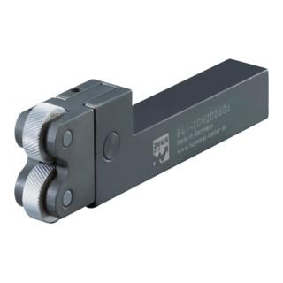 Rändelwerkzeug 10- 80mm 20x20mm Schaft H+K