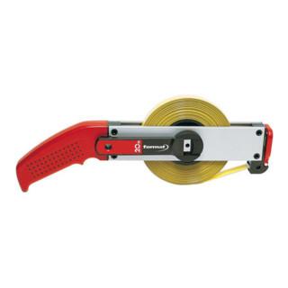 Format Rahmenstahlbandmaß, gelb