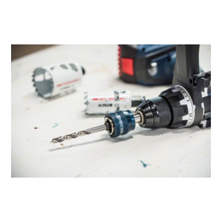 "Rallonge Bosch 150 mm et PC plus mandrin 7/16"", 11 mm"
