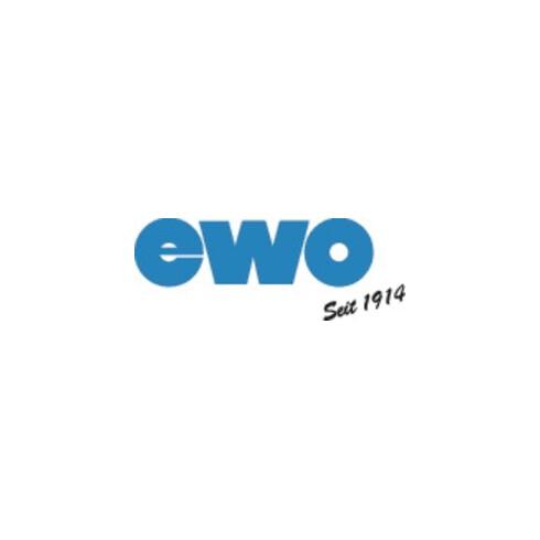 Rallonge de soufflettes aluminium courbée L. 300 mm EWO