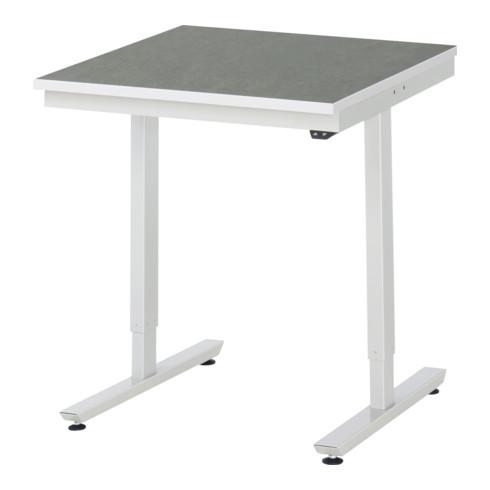 RAU Arbeitstisch adlatus 150 elektrisch höhenverstellbar Linoleum-/Universal-Platte