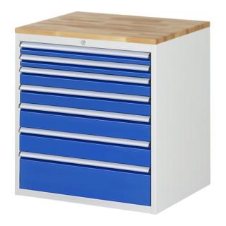 Rau Schubladenschrank Buche-Top XL mit 7 Schubladen jetztbilligerkaufen