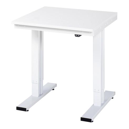RAU Werktisch adlatus 300 elektrisch höhenverstellbar EGB-Arbeitsplatte mit Melaminharzbeschichtung (volumenleitfaehig)
