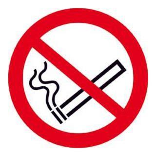 Wolk Gruppe Rauchen verboten PVC-Folie, selbstklebend
