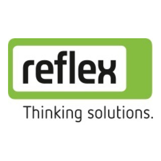 Reflex Ausdehn.gefäss N 200 L 6bar 120°C grau