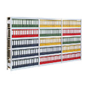 Regalwerk BERT Archivregal Anbaufeld HxBxT 2500x1285x300mm
