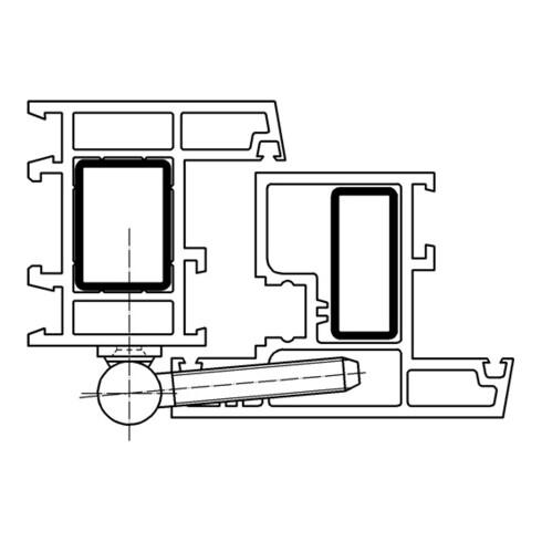 Renovierband K 3172 WF STA topzink 2-tlg. Bandlänge 57mm
