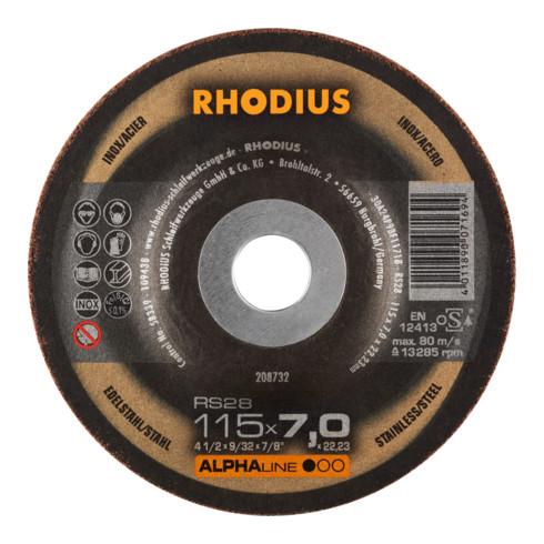 RHODIUS ALPHAline RS28 Pack Schruppscheibe