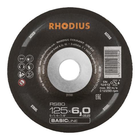RHODIUS BASICline RS80 Schruppscheibe