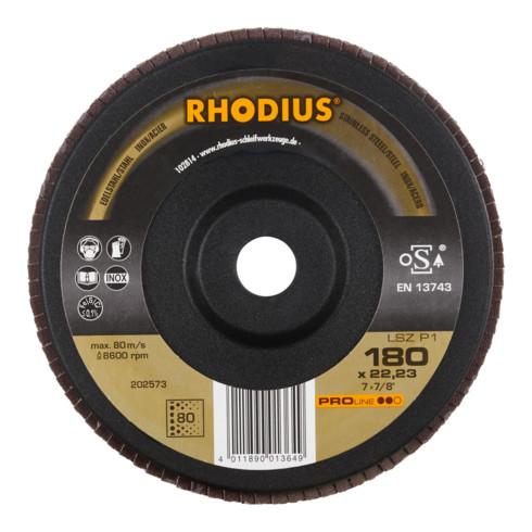 RHODIUS PROline LSZ P1 Fächerschleifscheibe