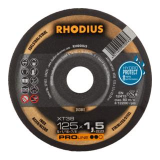 RHODIUS PROline XT38 Box Extradünne Trennscheibe