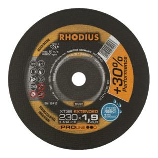 RHODIUS PROline XT38 Extradünne Trennscheibe