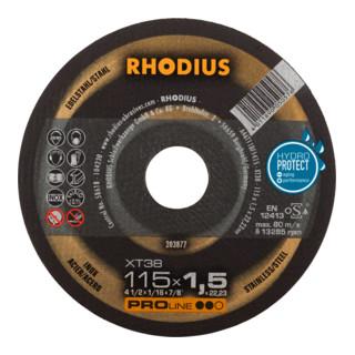 RHODIUS PROline XT38 X-LOCK Extradünne Trennscheibe