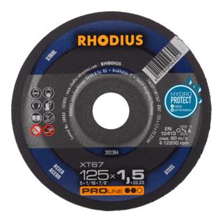 RHODIUS PROline XT67 Box Extradünne Trennscheibe
