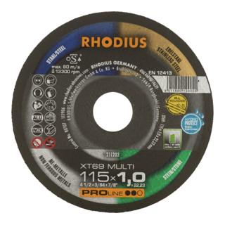 RHODIUS PROline XT69 MULTI BOX Extradünne Trennscheibe