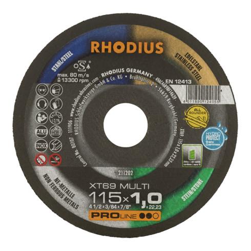 RHODIUS PROline XT69 MULTI Extradünne Trennscheibe