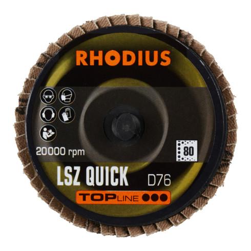 RHODIUS TOPline LSZ QUICK Fächerschleifscheibe