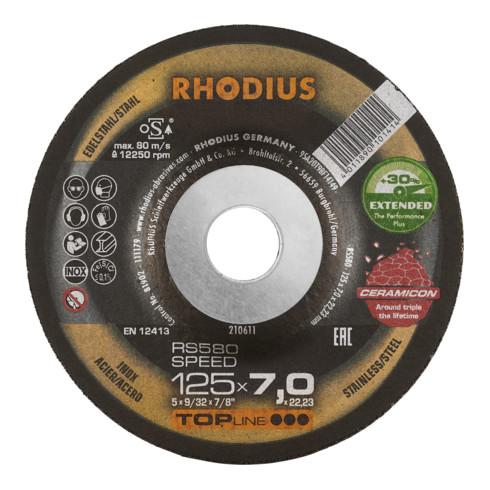 RHODIUS TOPline RS580 EXTENDED Schruppscheibe